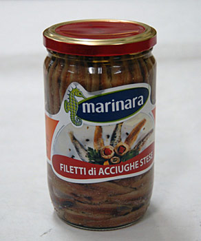 acciughe stese filetti